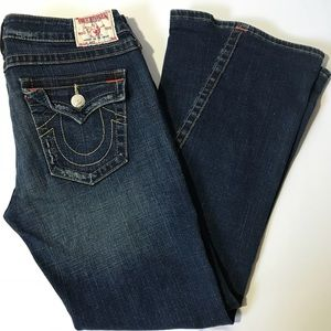 "TRUE RELIGION Joey ""World Tour"" Flare Jeans"